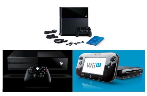 Spielkonsolen: PS4 versus Wii U und XBOX One